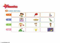 Interactive worksheet FM9 U2 phonics