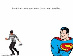 Interactive worksheet Laser Superman