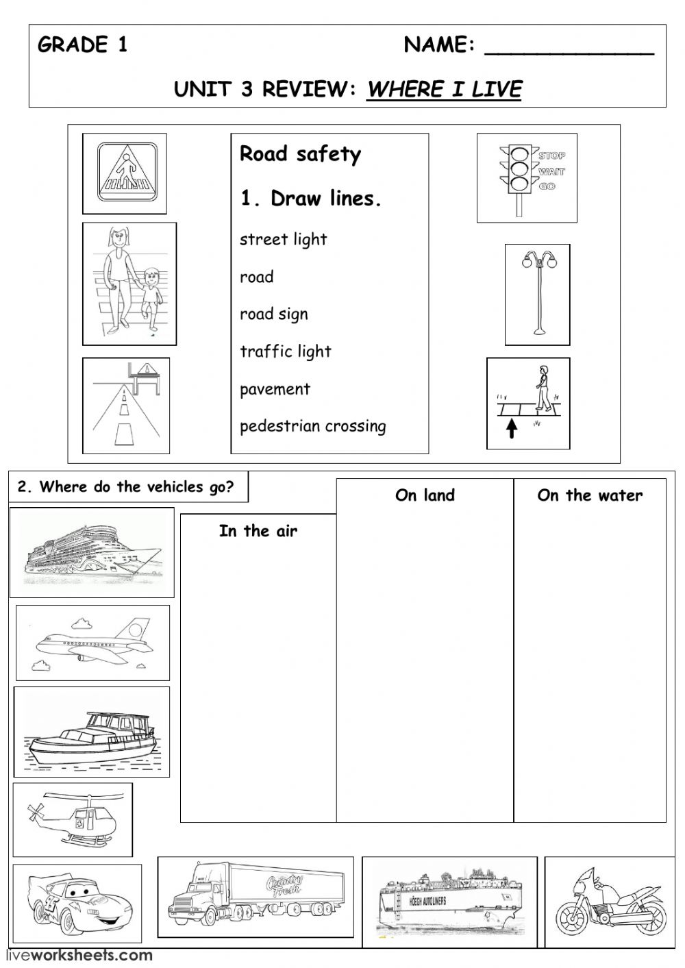Interactive Worksheet