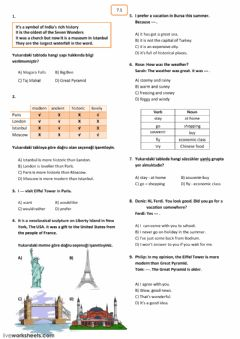 Interactive worksheet 8th gardes LGS