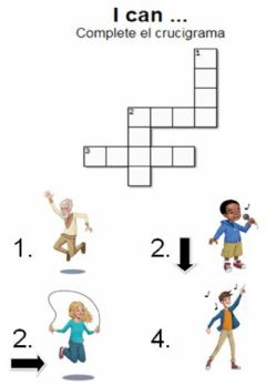 Interactive worksheet I can...Crossword