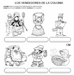 Interactive worksheet vendedores