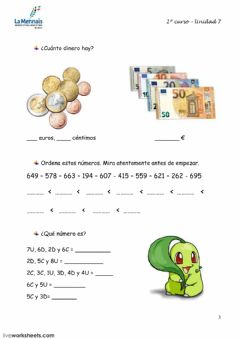 Interactive worksheet Tema 7.3 prim 2