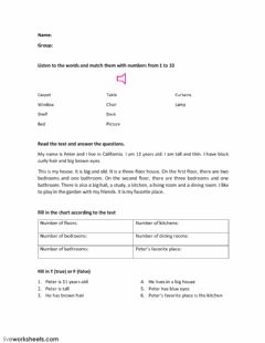 Interactive worksheet EXAMEN PARCIAL ABRIL 2° SEMESTRE