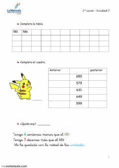 Interactive worksheet Tema 7.1 prim2
