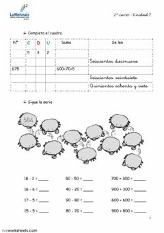 Interactive worksheet Tema 7.2 prim2
