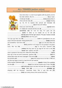 Interactive worksheet All Tenses (2)