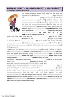 Interactive worksheet Present (perfect) - Past (perfect) (3)