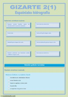 Interactive worksheet GIZARTE 2