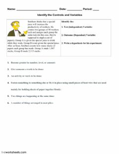 Interactive worksheet Independent and Dependent Variables-3