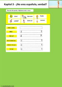 Interactive worksheet Kapitel 3 - uppgift 2 - åk 7