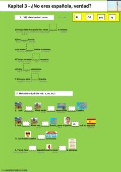 Interactive worksheet Kapitel 3 - uppgift 4 - åk 7