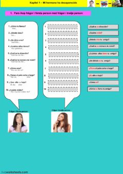 Interactive worksheet Kapitel 1 - Uppgift 3