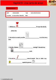 Interactive worksheet Kapitel 9 - uppgift 3 - åk 8