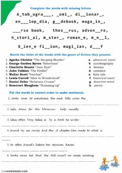 Interactive worksheet publications