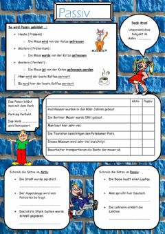 Interactive worksheet Passiv