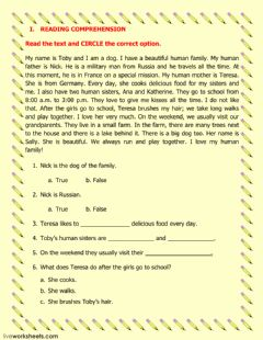 Interactive worksheet Final exam review