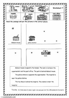 Interactive worksheet Reading worksheets