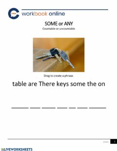 Interactive worksheet There are