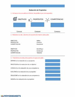 Interactive worksheet Hoja de Ejercicio 3
