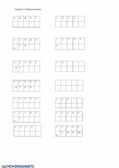 Ficha interactiva 10 addition - set 3