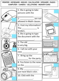 Interactive worksheet Technology