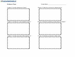 Interactive worksheet Evidence Flags chapters 10-15