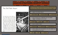 Interactive worksheet The tell-talle heart