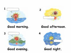 Interactive worksheet Good morning