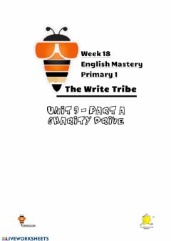 Ficha interactiva Week 18 English Mastery P1
