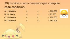 Interactive worksheet Entrenamiento Pokémon UDI 2