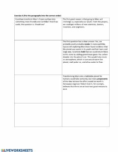 Interactive worksheet Future perfect