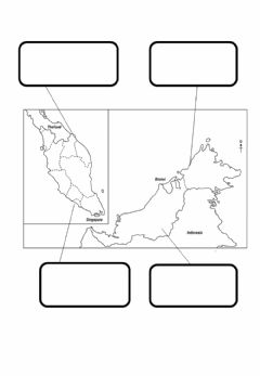 Interactive worksheet Name the State