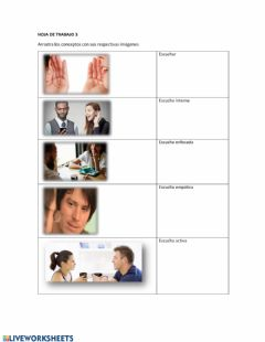 Interactive worksheet Hoja de trabajo 3-business coaching-módulo2