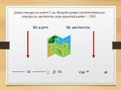 Interactive worksheet Масштаб 1