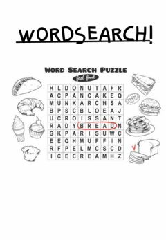 Interactive worksheet Word Search