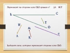 Interactive worksheet Углы 2
