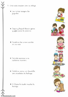 Interactive worksheet Lectura comprensiva1
