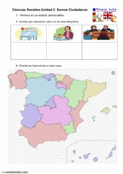 Interactive worksheet SomosCiudadanosF1