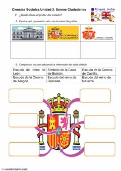 Interactive worksheet SomosCiudadanosF2