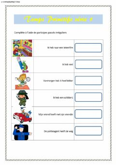 Interactive worksheet TP serie 1
