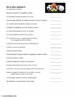 Interactive worksheet Un repaso del vocabulario de capítulo 5