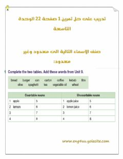 Interactive worksheet Classify Nouns C U