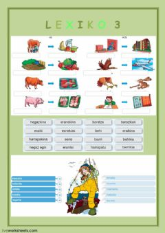 Interactive worksheet Lexiko 3