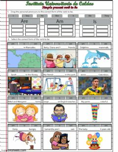 Interactive worksheet Simple present verb to be