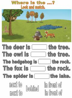Interactive worksheet Countryside. Drag and drop.