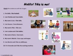 Interactive worksheet Toys for everyone