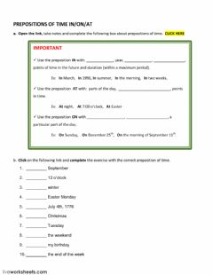 Interactive worksheet Lab class 2B