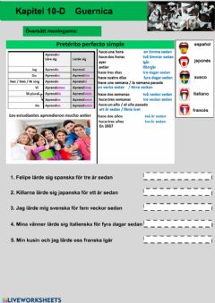 Interactive worksheet Kapitel 10D - uppgift 4 - åk 8