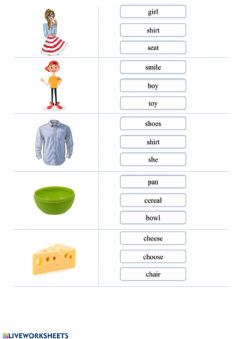 Interactive worksheet Vocabulary.Daily routine